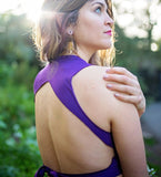 Yoga backless minitop