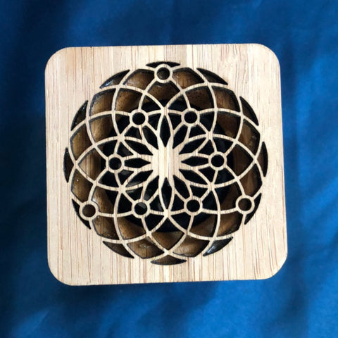 Speaker flower of life