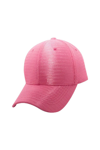 Easy Breezy Baseball Cap-Pink - Icon
