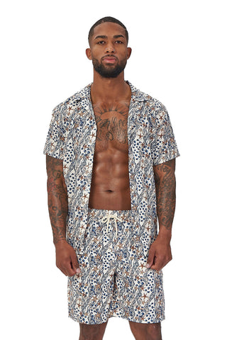 laguna nights shirt-starfish print - Icon