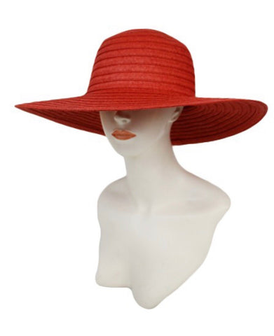 Chillin Poolside Beach Hat-Red - Icon