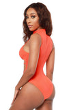 supernova monokini- orange