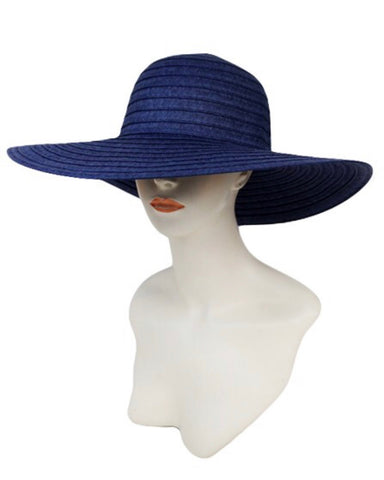 Chillin Poolside Beach Hat-Navy Blue - Icon