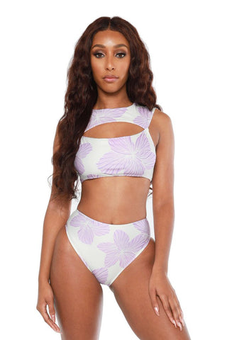 martinique bikini- purple
