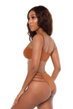 choosing sides bikini- brown