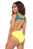 coming together swimsuit- yellow