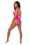 take the plunge monokini- pink - Icon