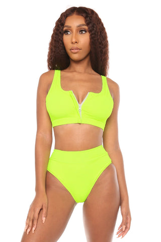 under control bikini- yellow