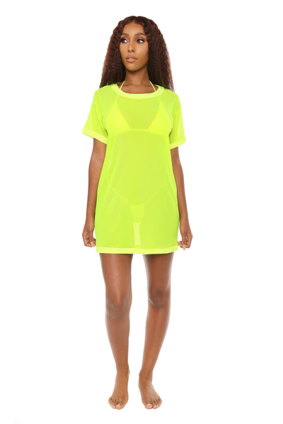 knock hem dead cover up- neon yellow - Icon