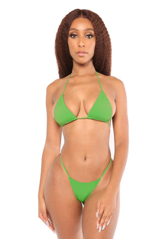 love triangle bottoms- green