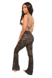 temptation cover up pants- black