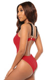 bare with me monokini- red - Icon