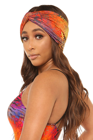 heads up headband-multi print - Icon