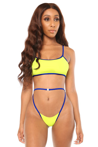 heat wave bikini- yellow - Icon