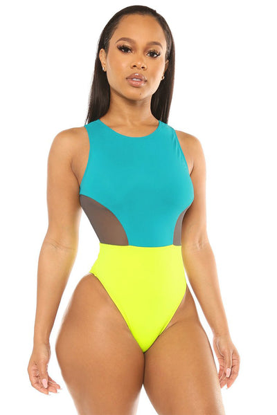 dream on swimsuit-teal - Icon