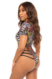 pattern pleasure swimsuit-print - Icon