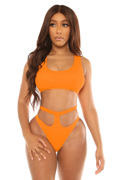 vitamin sea bikini-orange - Icon