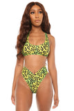 feline fierce bikini- yellow