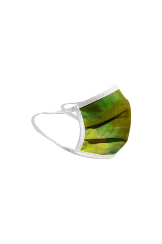 protective face mask II-green/orange tye dye - Icon
