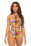 on island time monokini-print - Icon