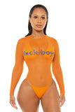 No Fxckboys Monokini-Orange - Icon