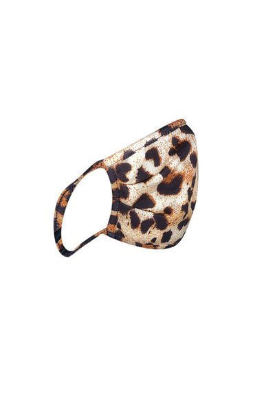 protective face mask II-leopard print - Icon