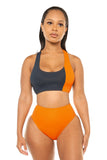 Sea If I Care Bikini-Orange - Icon