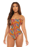 stop and stare swimsuit-leaf print