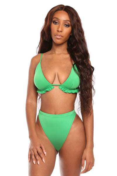 the envy bikini- green
