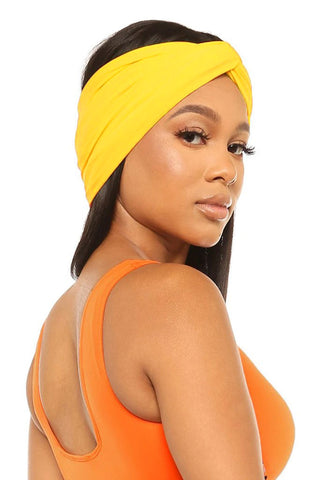 Heads Up Headband-Yellow - Icon