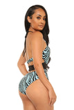 jungle fever swimsuit-print - Icon