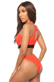it's fair game bikini- orange