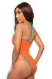 parting ways swimsuit- orange - Icon