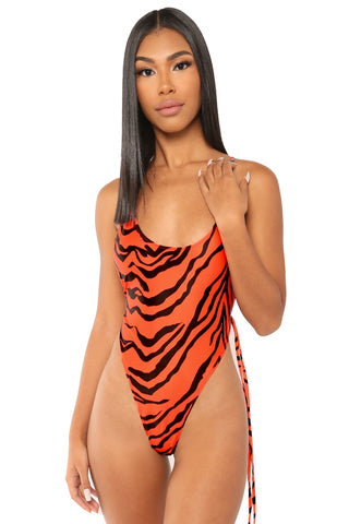 fair and square swimsuit- zebra - Icon