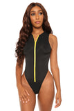 undivided attention swimsuit- black - Icon