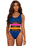 lifesaver swimsuit- blue