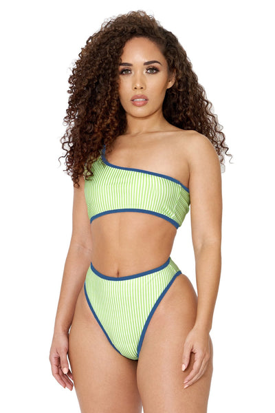 right back at you bikini- green
