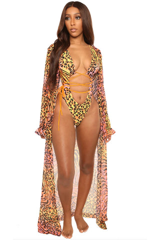 islander coverup-animal print - Icon