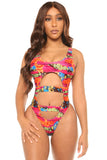 make a break monokini- print - Icon