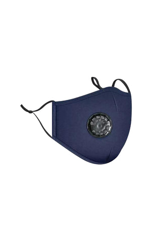 respirator valve face mask-blue - Icon