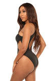Ace of spades monokini-black - Icon