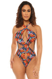 ace of spades monokini-print - Icon