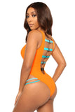 aim to please swimsuit-orange - Icon