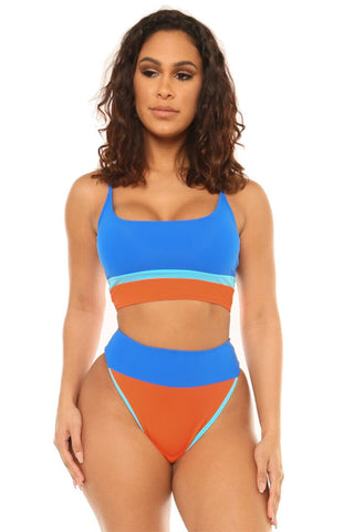 best of me hikini-blue/orange - Icon