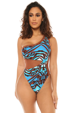 blue dream swimsuit-blue print