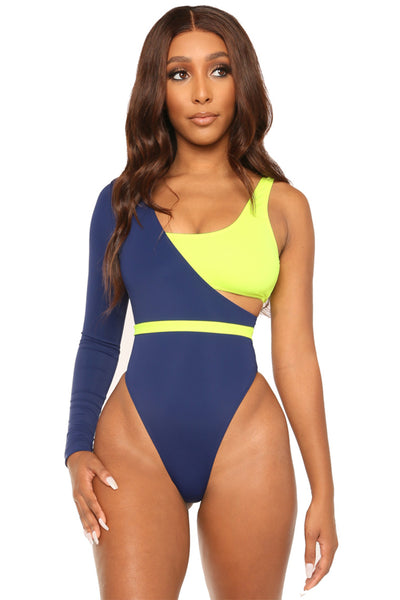 call it off swimsuit-navy - Icon