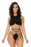 catch a vibe bikini-black - Icon
