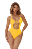 closing in swimsuit-yellow - Icon
