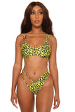 cut to the chase bikini- yellow