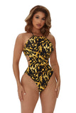 cruise with me swimsuit-tortoise print - Icon